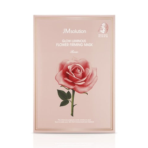 JMsolution  Glow Luminous Flower Firming Mask Rose - 1pack (10pcs)