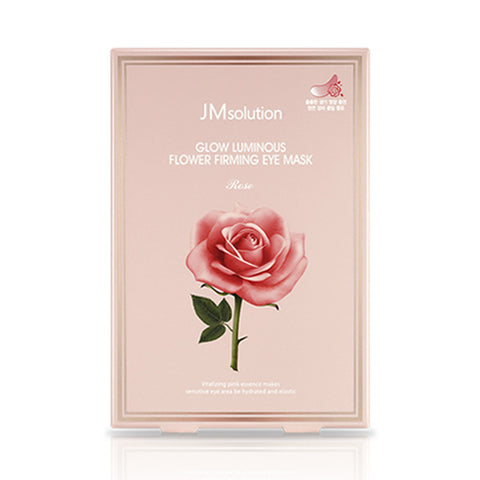 JMsolution  Glow Luminous Flower Firming Eye Mask - 1pack (10pcs)