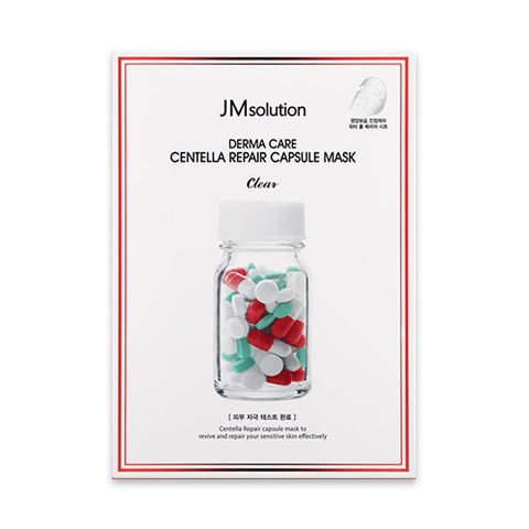 JMsolution  Derma Care Centella Repair Capsule Mask - 1pack (10pcs)