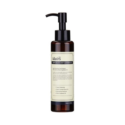 Klairs  Gentle Black Deep Cleansing Oil - 150ml