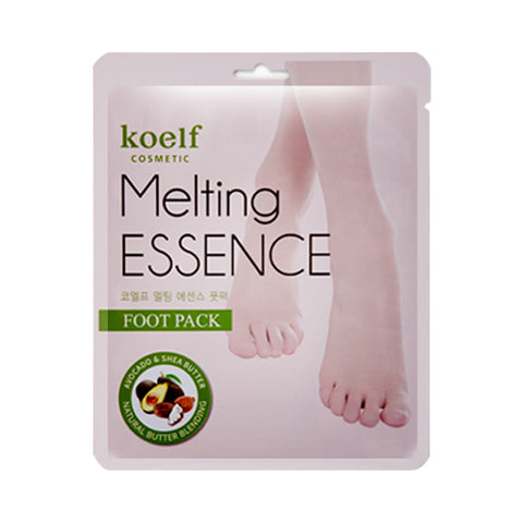 KOELF  Melting Essence Foot Pack - 1pack (10pcs)