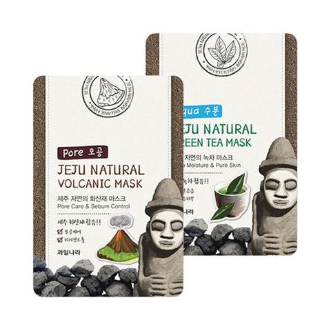 WELCOS KWAILNARA  Jeju Natural Mask - 10pcs