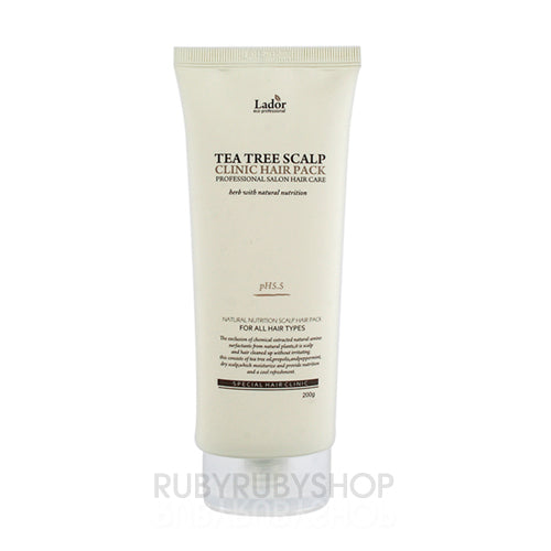 Lador  Tea Tree Scalp Clinic Hair Pack - 200g