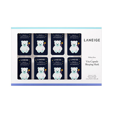 LANEIGE  White Dew Vita Capsule Sleeping Mask - 1pack (8uses)