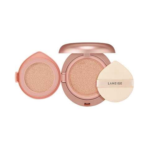 LANEIGE  Layering Cover Cushion & Concealing Base - 1pack (14g + 2.4g) (SPF34 PA++)