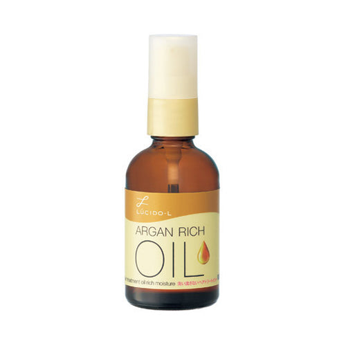 LUCIDO L  Argan Rich Oil Hair Treatment Oil Rich Moisture - 60ml