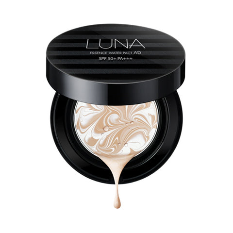 LUNA / Essence Water Pact AD - 1pack (12.5g+Refill) (SPF50+ PA+++)