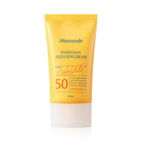 Mamonde  Everyday Aqua Sun Cream - 50ml (SPF50+ PA++++)