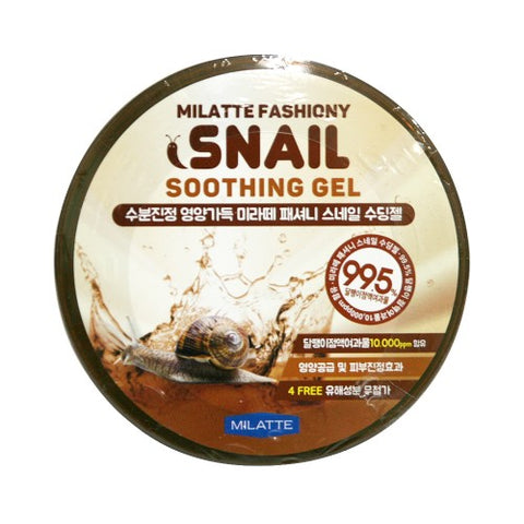 MILATTE  Fashiony Snail Soothing Gel - 300ml