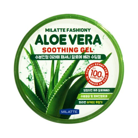 MILATTE  Fashiony Aloe Vera Soothing Gel - 300ml