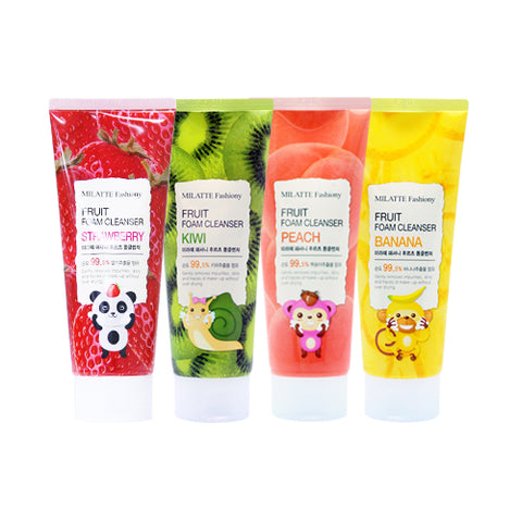 MILATTE  Fashiony Fruit Foam Cleanser - 150ml