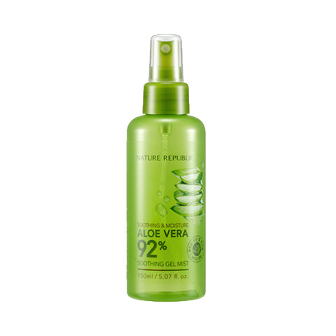 NATURE REPUBLIC  Soothing & Moisture Aloe Vera 92% Soothing Gel Mist - 150ml