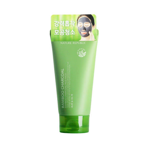 NATURE REPUBLIC Bamboo Charcoal Mud Pack - 150g