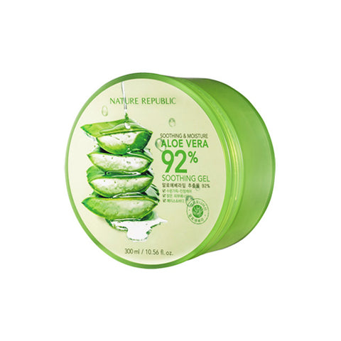 NATURE REPUBLIC  Soothing & Moisture Aloe Vera 92% Soothing Gel - 300ml