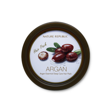 NATURE REPUBLIC Argan Essential Deep Care Hair Pack - 200ml
