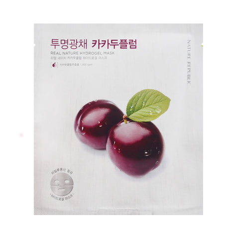 NATURE REPUBLIC / Real Nature Hydrogel Mask - 1pcs