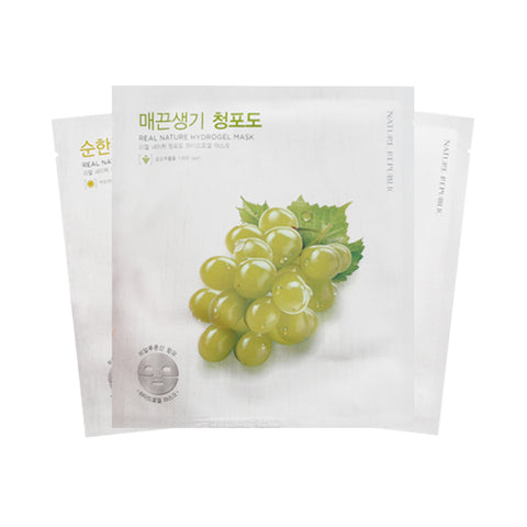NATURE REPUBLIC  Real Nature Hydrogel Mask - 1pcs