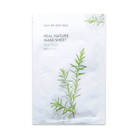 NATURE REPUBLIC / Real Nature Mask Sheet (New) - 1pcs