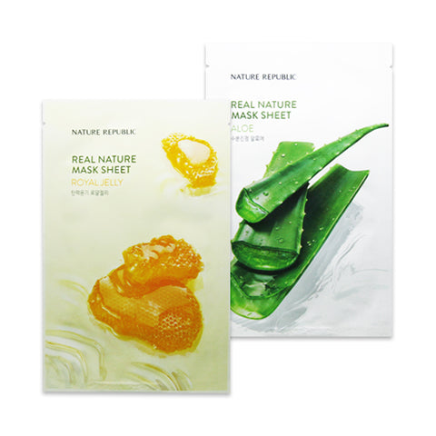 NATURE REPUBLIC  Real Nature Mask Sheet (New) - 1pcs