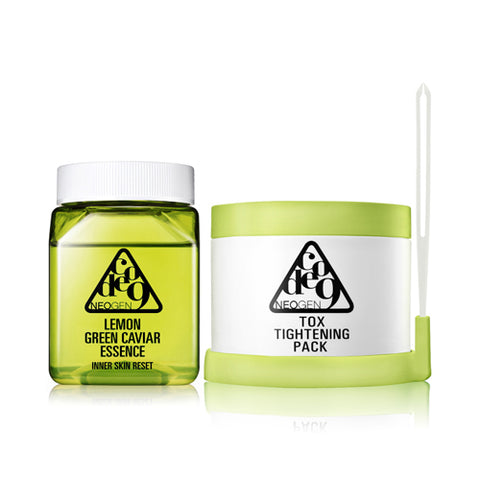 NEOGEN  Code9 Lemon Green Caviar Essence & Tox Tightening Pack - 1pack