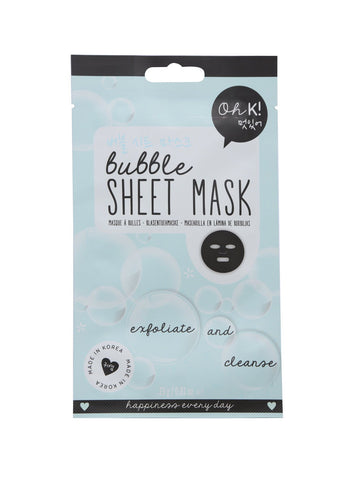 OH K / Bubble Sheet Mask 1 Pc (In Stock)