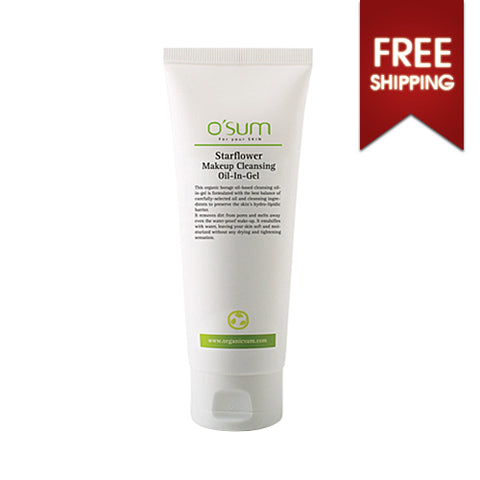 O'SUM  Starflower Makeup Cleansing Oil In Gel - 150ml