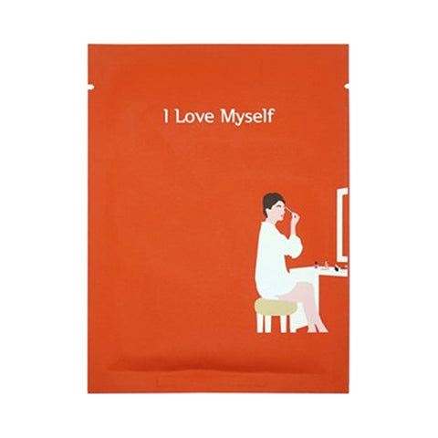 PACK age  I Love Myself Makeup Boosting Mask - 1pcs