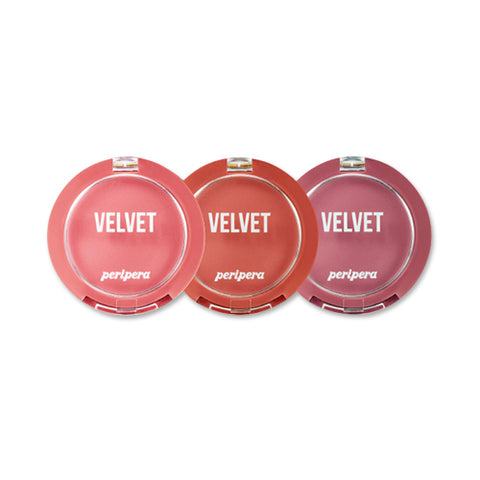 PERIPERA  Pure Blushed Velvet Cheek (Pink Moment Collection) - 4g