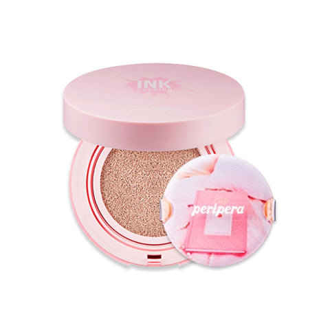 PERIPERA  Inklasting Pink Cushion (Pink Moment Collection) - 14g (SPF50+ PA+++)