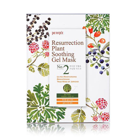 PETITFEE  Resurrection Plant Soothing Gel Mask - 1pack (10pcs)