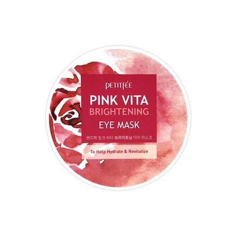PETITFEE  Pink Vita Brightening Eye Mask - 1pack (60pcs)