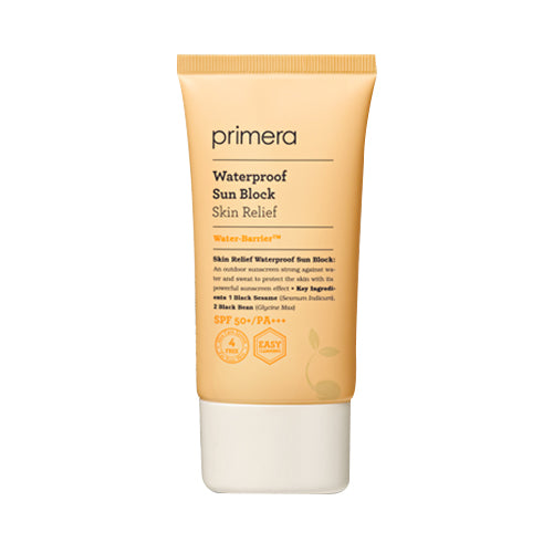 Primera  Skin Relief Waterproof Sun Block - 70ml (SPF50+ PA+++)