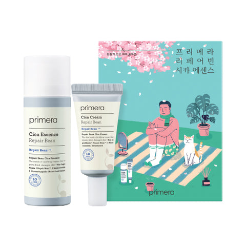 Primera  Repair Bean Cica Essence Set - 1pack (2items)