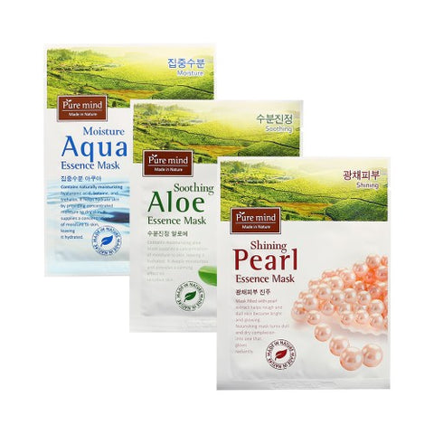 PURE MIND Essence Mask - 1pack (10pcs)