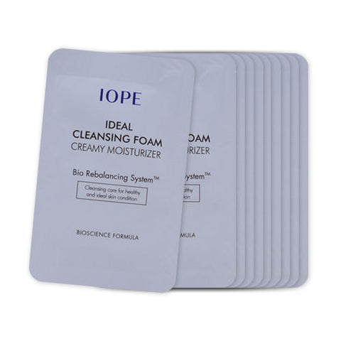 IOPE Ideal Cleansing Foam Creamy Moisturizer - 1 piece (In stock)
