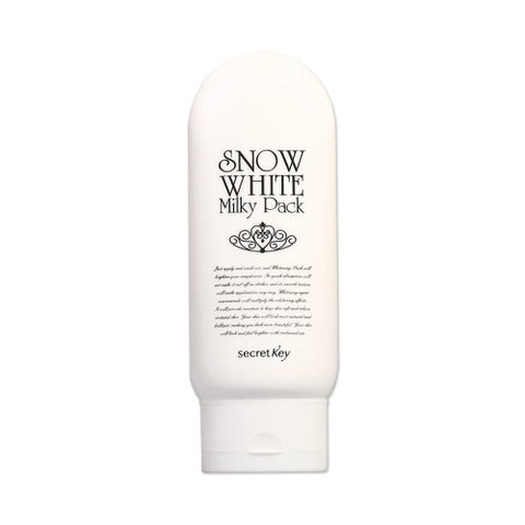 Secret Key  Snow White Milky Pack - 200g