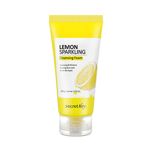 Secret Key  Lemon Sparkling Cleansing Foam - 120g