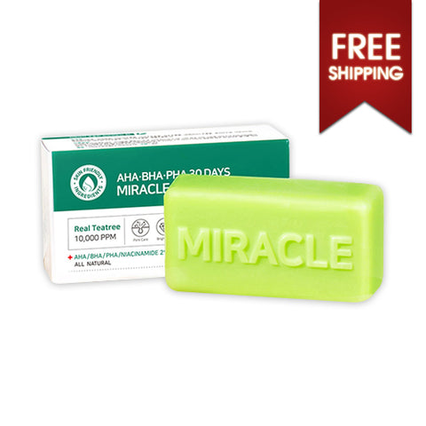 SOME BY MI  AHA BHA PHA 30 Days Miracle Cleansing Bar - 106g