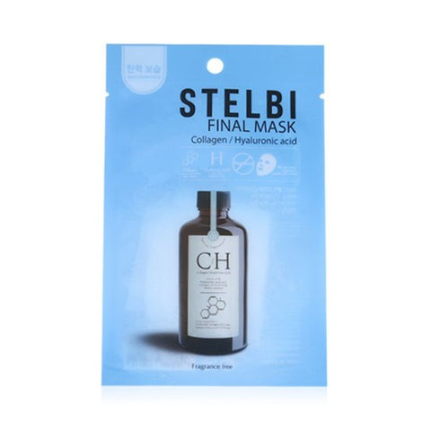 STELBI  Final Mask - 1pcs No.Collagen & Hyaluronic Acid