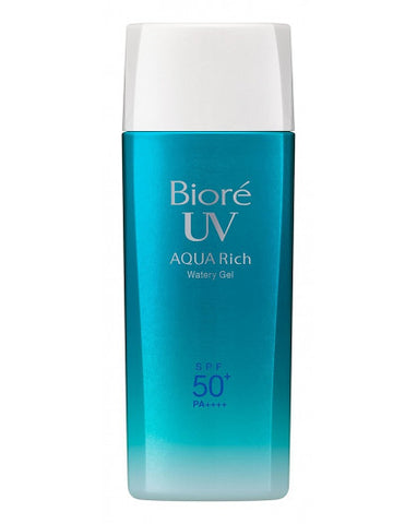 BIORE UV AQUA RICH WATERY GEL SUNSCREEN SPF50+/ PA++++ 90ML