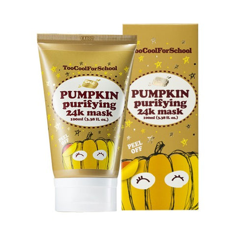 TOO COOL FOR SCHOOL  Pumpkin Purifying 24K Mask - 100ml