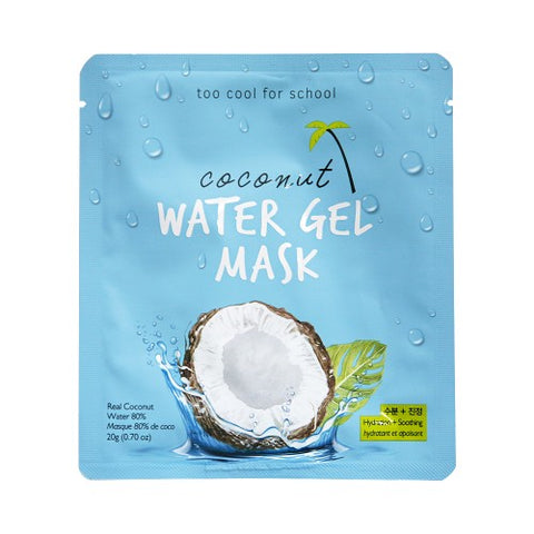 TOO COOL FOR SCHOOL  Coconut Water Gel Mask - 1pcs
