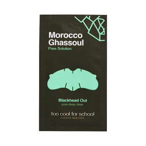 TOO COOL FOR SCHOOL  Morocco Ghassoul Blackhead Out - 1pcs