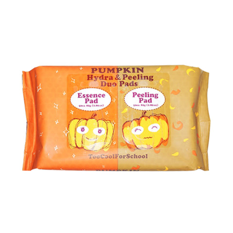 TOO COOL FOR SCHOOL  Pumpkin Hydra & Peeling Duo Pads - 1pack (100pcs)