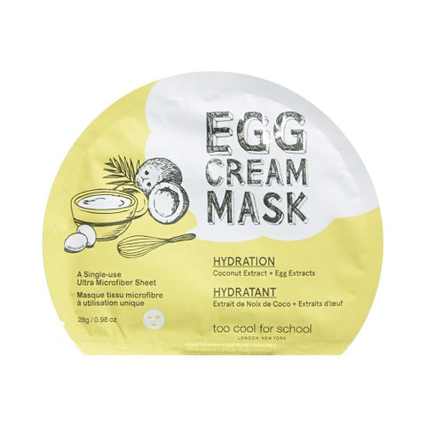 TOO COOL FOR SCHOOL / Egg Cream Mask - 1pcs