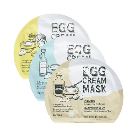 TOO COOL FOR SCHOOL  Egg Cream Mask - 1pcs