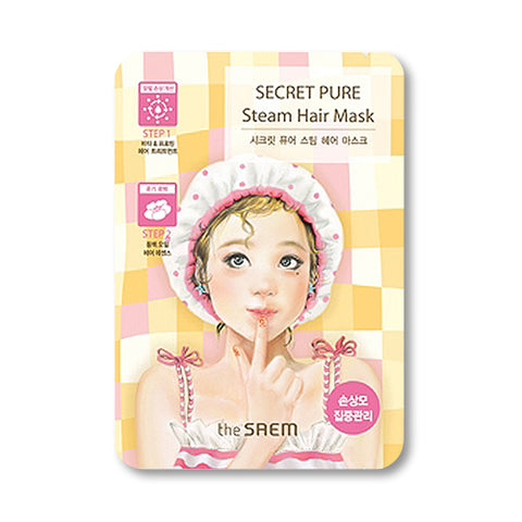 THESAEM  Secret Pure Steam Hair Mask - 1pcs