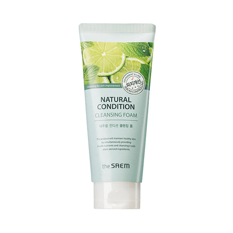 THESAEM  Natural Condition Cleansing Foam Sebum Controlling - 150ml