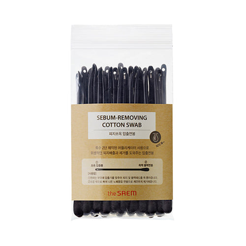 THESAEM  Sebum Removing Cotton Swab - 1pack (40pcs)