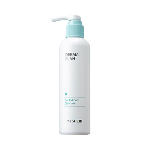 THESAEM  Derma Plan Gel To Foam Cleanser - 180ml